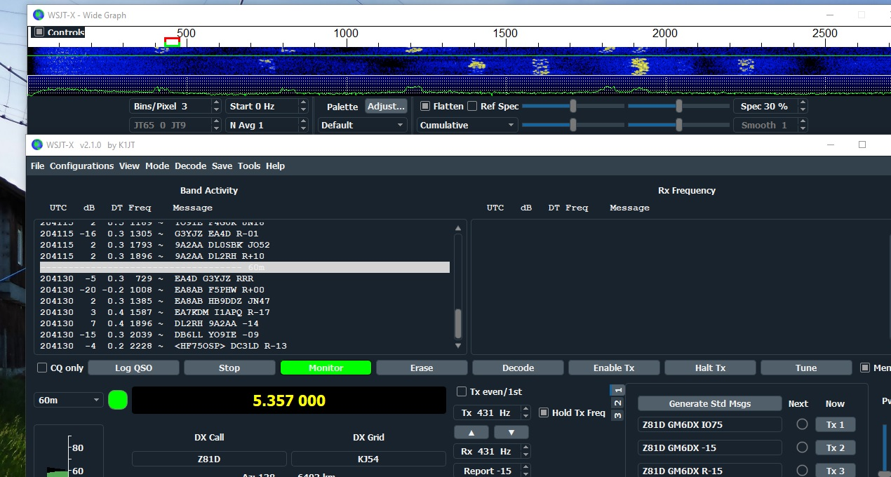 WSJT-X Dark Mode (How to guide)